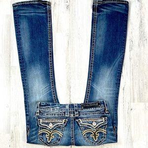 Rock Revival Anja Boot Cut Jean's. Size 26
